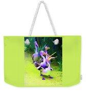 Fluorescent Pelicans Weekender Tote Bag