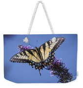 Fluted Swallowtail Weekender Tote Bag