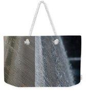 Fluted Water Weekender Tote Bag
