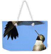 Fluttering Weekender Tote Bag by Shane Bechler