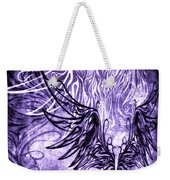 Fly Away Gothic Grape Weekender Tote Bag