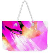 Fly Away Home Abstract Weekender Tote Bag