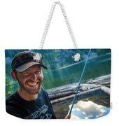 Fly Fishing Emerald Lake, Weminuche Weekender Tote Bag