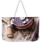 Fly Fishing Still Life Weekender Tote Bag