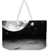 Fly Me To The Moon Weekender Tote Bag