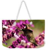 Flying At Attention Weekender Tote Bag