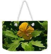 Flying Bee And Wood Poppy Weekender Tote Bag