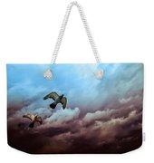 Flying Before The Storm Weekender Tote Bag