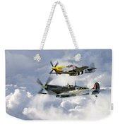 Flying Brothers Weekender Tote Bag