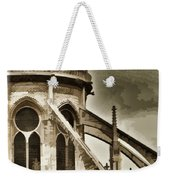 Flying Buttress At Notre Dame Weekender Tote Bag