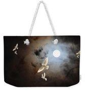 Flying By Moonlight Weekender Tote Bag