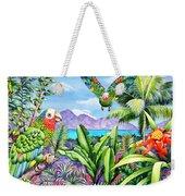 Flying Colours Weekender Tote Bag by Carolyn Steele
