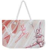 Flying Dancers  Weekender Tote Bag