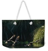 Flying Ducks Weekender Tote Bag