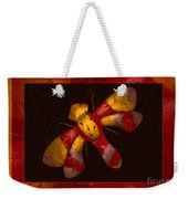 Flying Fantasies Of Light Abstract Painting Weekender Tote Bag