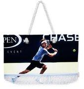 Flying Federer  Weekender Tote Bag