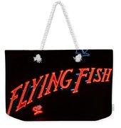 Flying Fish Weekender Tote Bag