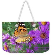 Flying Flower Weekender Tote Bag