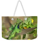 Flying Green Violetear Weekender Tote Bag