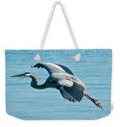 Flying Heron Weekender Tote Bag