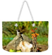 Flying Hummingbird Weekender Tote Bag