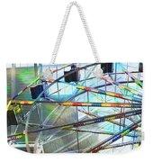 Flying Inside Ferris Wheel Weekender Tote Bag