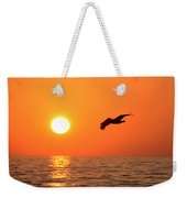 Flying Into The Sun Weekender Tote Bag