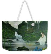 Flying Into Your Arms Weekender Tote Bag