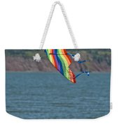 Flying Kite Weekender Tote Bag