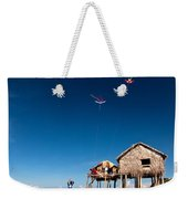 Flying Kites Weekender Tote Bag