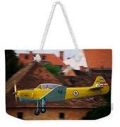 Flying Low Weekender Tote Bag by Ivan Slosar