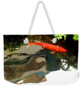 Flying On The Surface Weekender Tote Bag