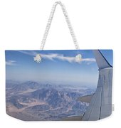 Flying Over Mount Sinai Weekender Tote Bag