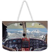 Flying Over North Cascades Weekender Tote Bag