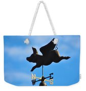 Flying Pig Weekender Tote Bag