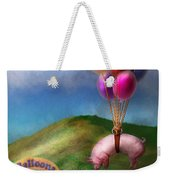 Flying Pig - Child - How I Wish I Were A Bird Weekender Tote Bag