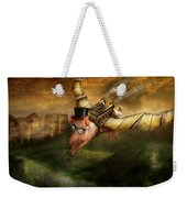 Flying Pig - Steampunk - The Flying Swine Weekender Tote Bag