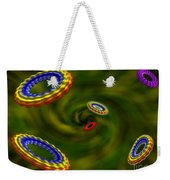 Flying Rings  Weekender Tote Bag