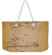 Flying Submarine Patent Weekender Tote Bag