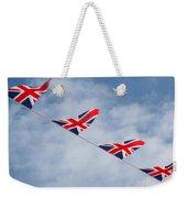 Flying The Union Jack Weekender Tote Bag