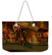 Flying Through A Wonderland Weekender Tote Bag