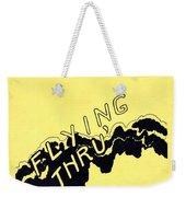 Flying Thru Weekender Tote Bag