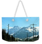 The Way To The Alps Weekender Tote Bag