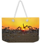 Flying To The Rising Sun Weekender Tote Bag