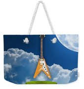 Flying V Guitar Weekender Tote Bag