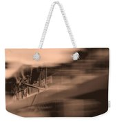 Foam Tank A Fire Engine Number Four Weekender Tote Bag by Bob Orsillo