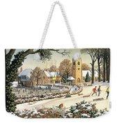 Focus On Christmas Time Weekender Tote Bag
