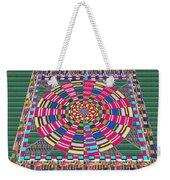 Focus Target Yoga Mat Chakra Meditation Round Circles Roulette Game Casino Flying Carpet Energy Mand Weekender Tote Bag