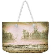 Fog Abstract 1 Weekender Tote Bag by Marty Koch
