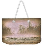 Fog Abstract 2 Weekender Tote Bag by Marty Koch